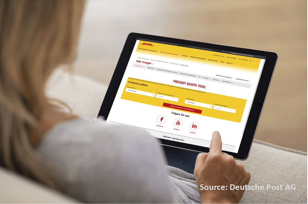 Onlinetool Deutsche Post