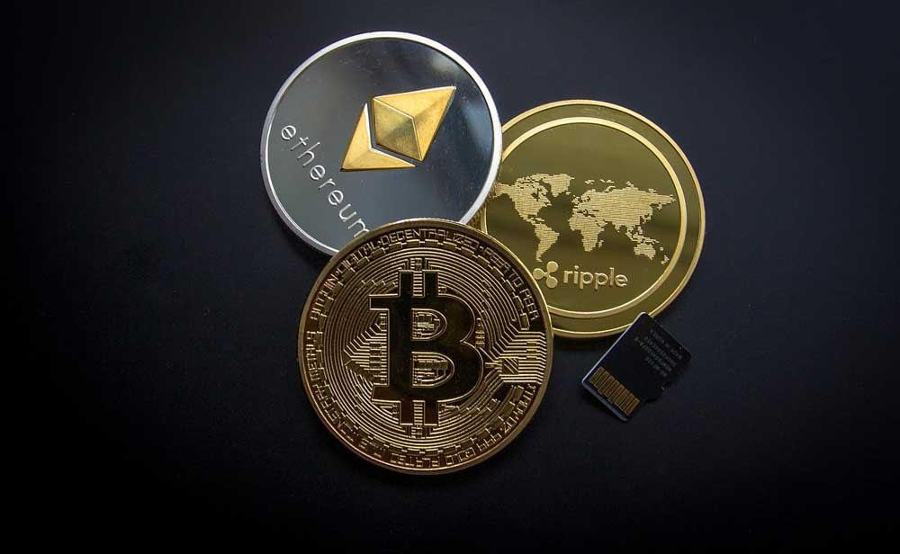Overview cryptocurrencies