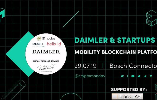 Mobility Blockchain Platform