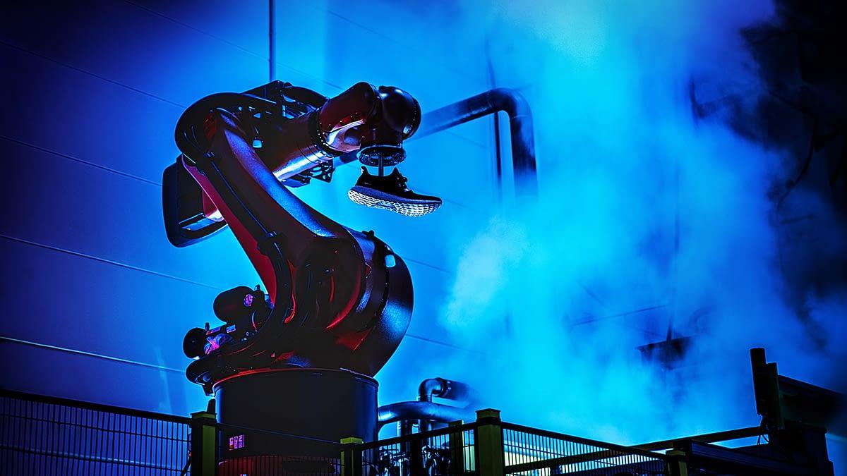 Robotertechnologie in der Produktion, Adidas Speedfactory