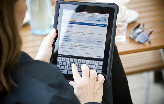 Deutsche Bank Banking iPad