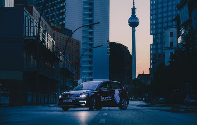 electric car e-Golf VW