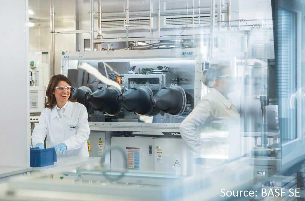 BASF SE Forschung an innovativen Batterien