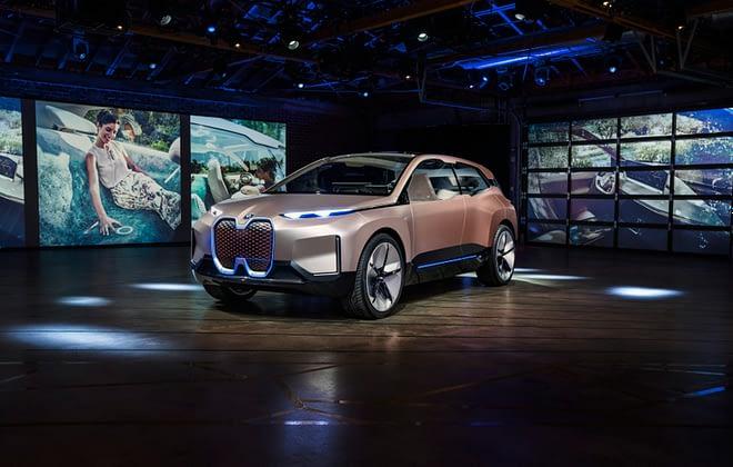 BMW future driving